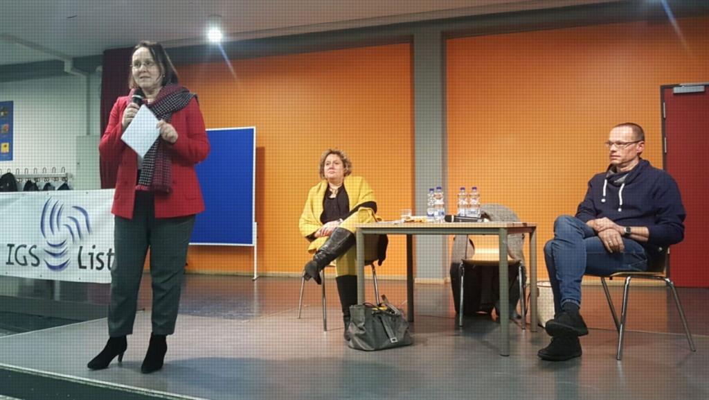 Claudia Schüßler, Kerstin Tack und Marc-Dietrich Ohse