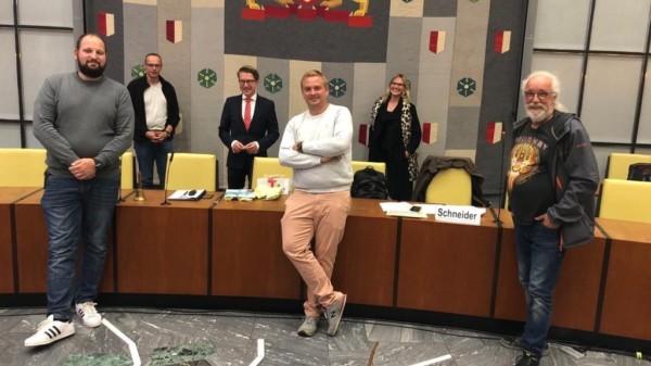 Abschied von Henning Hofmann im Kreise unserer Bezirksratsfraktion