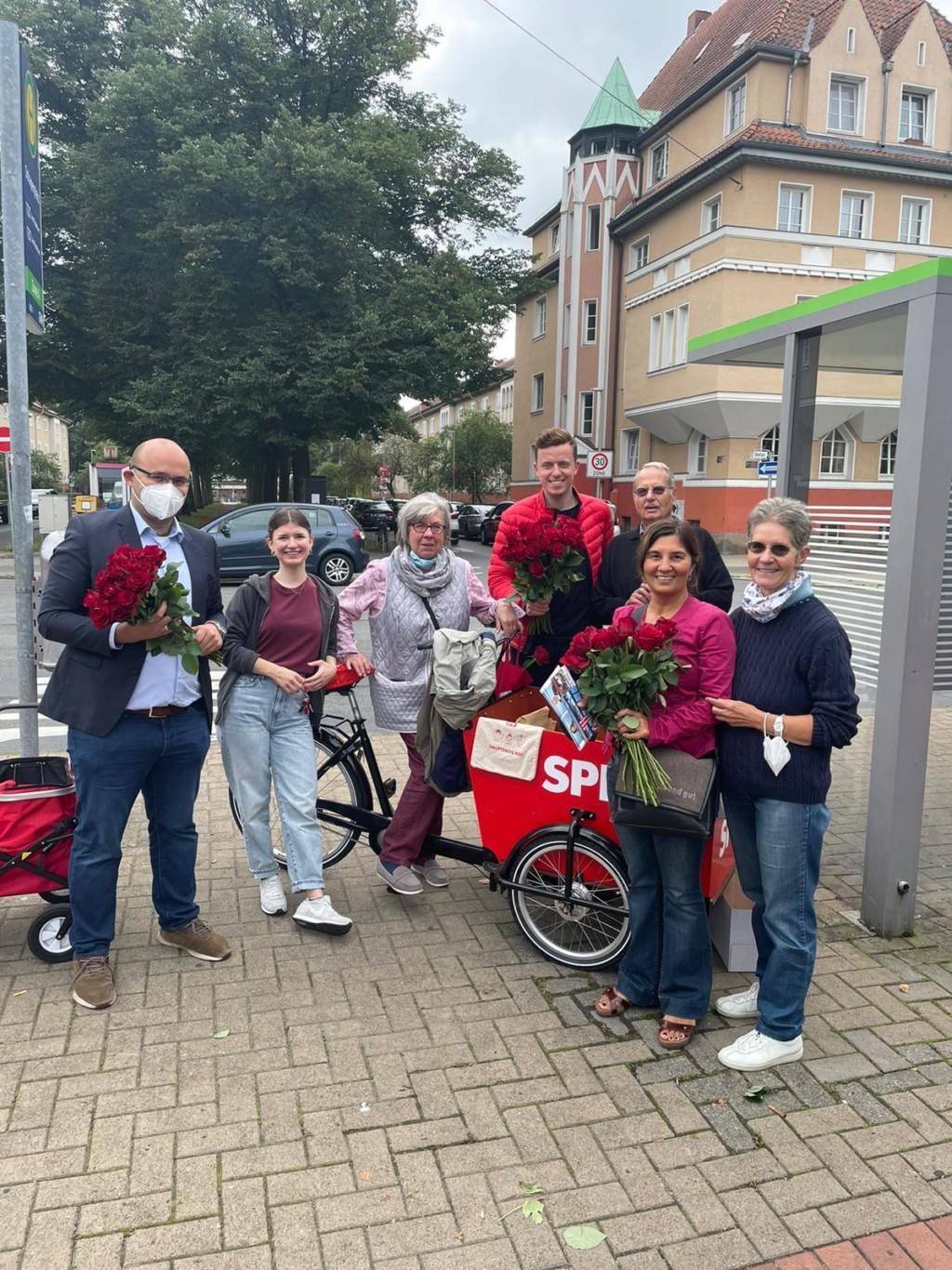 Bild vom Wochenmarkt am Schaperplatz