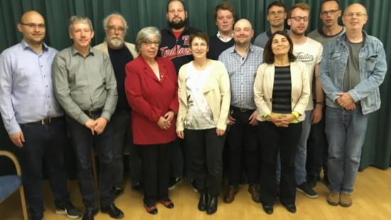 Bild vom Vorstand des Ortsvereins Kleefeld-Heideviertel