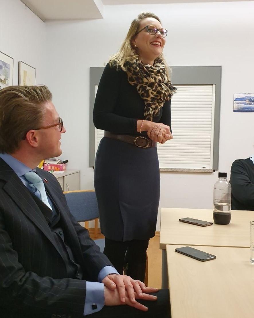 Johanna Starke und Henning Hofmann
