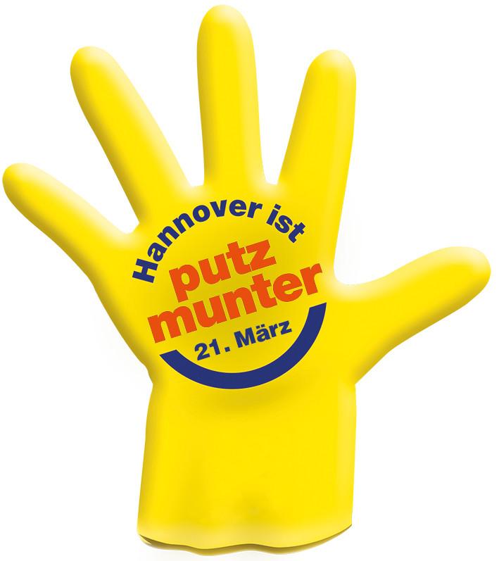 Logo der Aktion Hannover ist putzmunter
