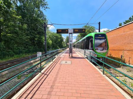 Bild einer Stadtbahn